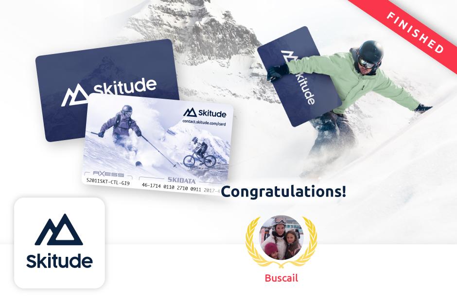 Skitude Card Cahllenge